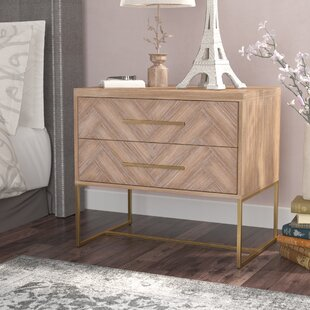 Compare prices Parfondeval 2 Drawer Nightstand By Lark Manor