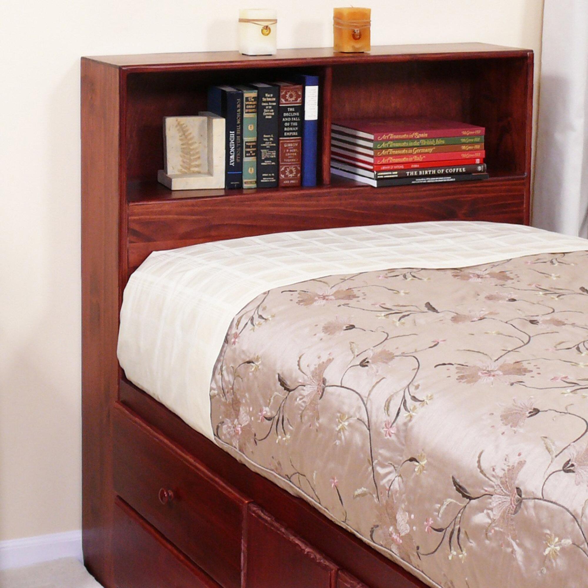 Twin Bookcase Headboard
