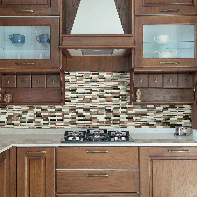 Smart Tiles Milenza 9 X 10 Gel Peel Stick Mosaic Tile