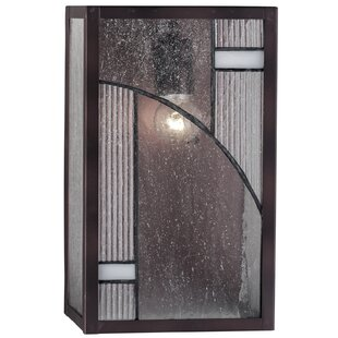 Read Reviews Abigayle 1-Light Outdoor Sconce By Latitude Run
