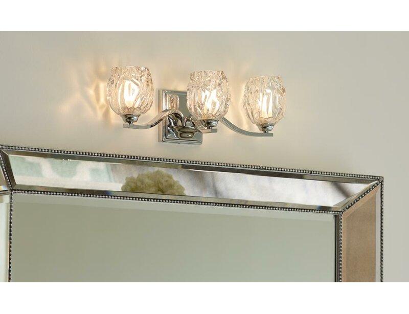 Lark Manor Louisbourg 3-Light Bath Vanity Light & Reviews | Wayfair