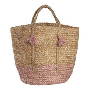 Comfort Storage Jute Basket By Beachcrest Home