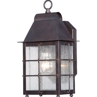 World Menagerie Lelystad 1-Light Outdoor Wall lantern