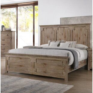 Tyne Panel Bed by Three Posts
