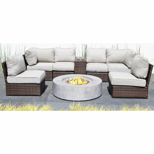 Vasil 8 Piece Sectional Set with Cushions