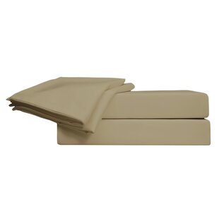 Johnny Cornstalk 800 Thread Count Solid 100% Egyptian-Quality Cotton Sheet Set ByBay Isle Home