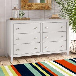 Harriet Bee Vidor 6 Drawer Double Dresser