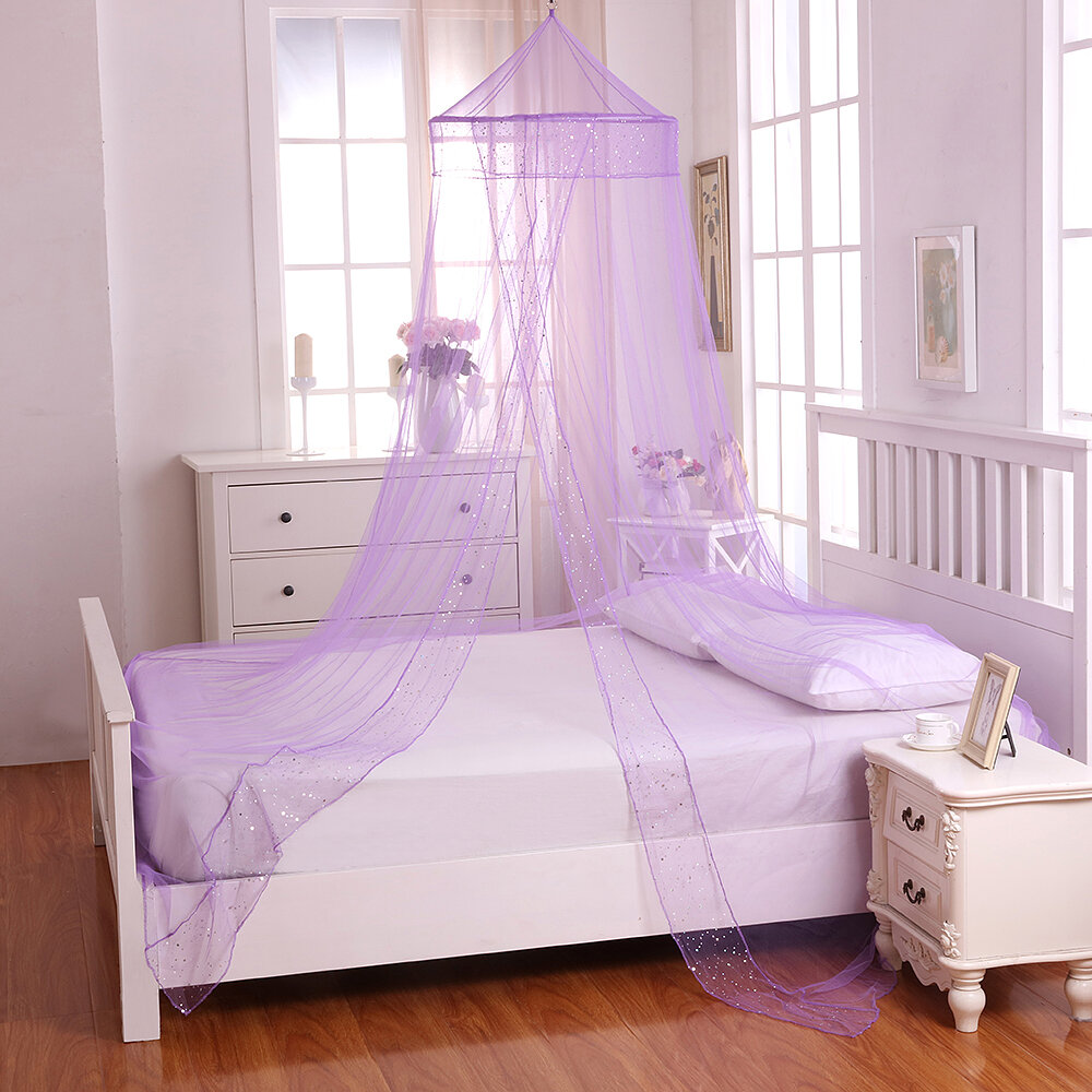 - Harriet Bee Jaymes Kids Collapsible Hoop Sheer Bed Canopy