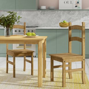 Solid Wood Dining Chair (Set Of 2) By Home & Haus