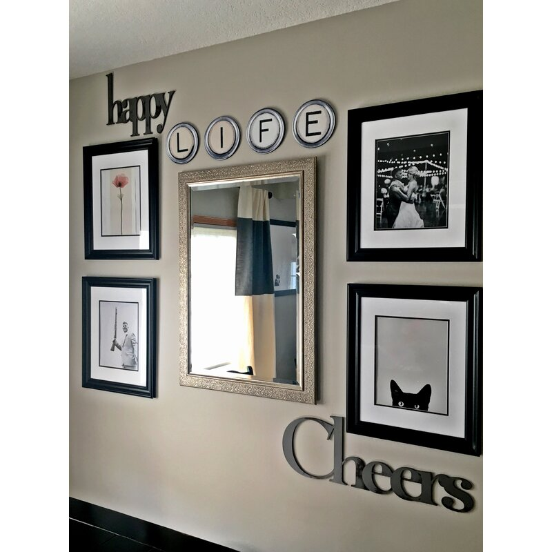 Superior Hand Painted Typewriter Key Letter Wall Decor