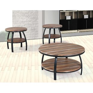 Union Rustic Mccormick 3 Piece Coffee Table Set