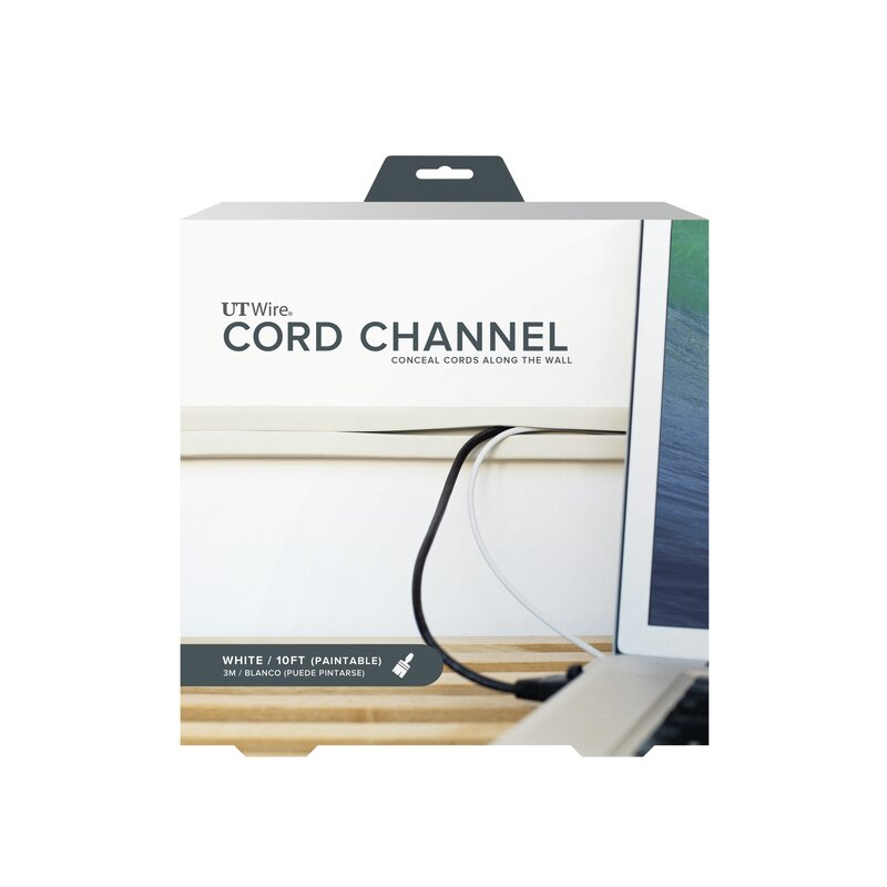 UT Wire Cable Management Wire Cord Channel & Reviews | Wayfair