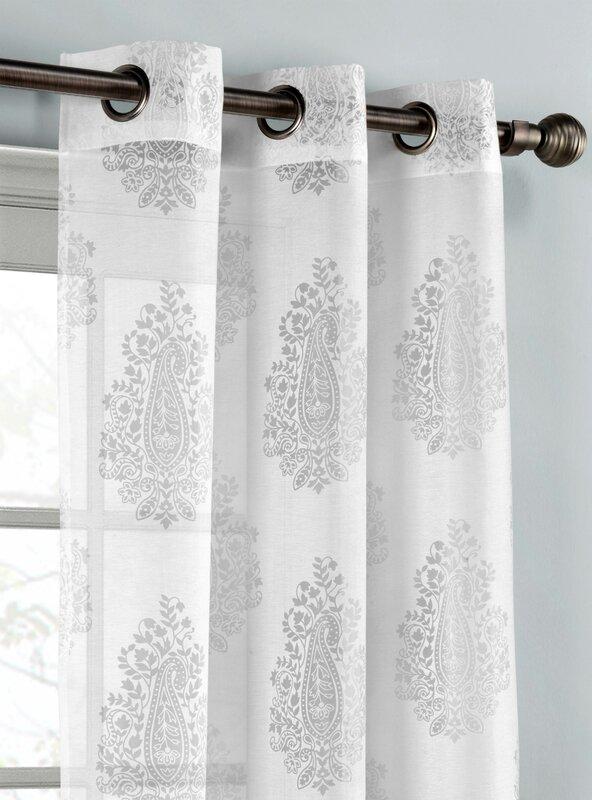 defaultname - Sheer Curtain Panels