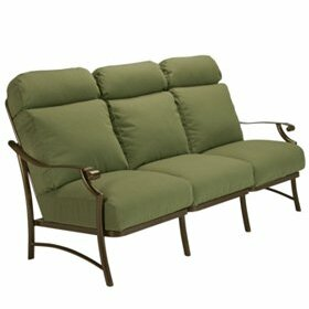 Montreux II Patio Sofa with Cushions