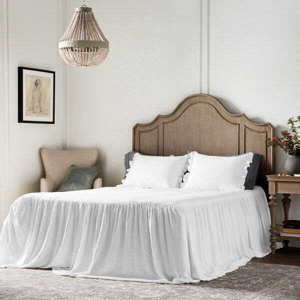 Queen Ruffled Bedspread Wayfair
