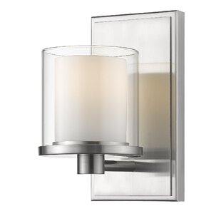 Comparison Whiteway 1-Light LED Candle Wall Light By Winston Porter