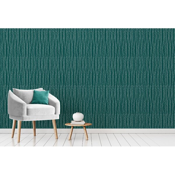 Ebern Designs Fahmida Smooth Peel and Stick Wallpaper ...