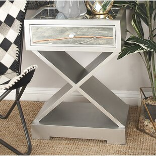 End Table with Storage By Cole & Grey