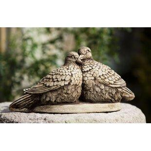 Campania International Lovebirds Statue