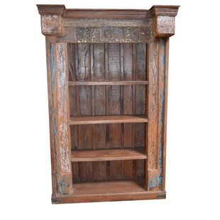 Mariano Carved Standard Bookcase by World Menagerie Read Reviews