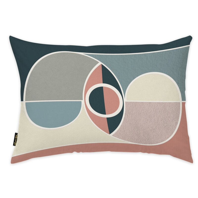 Oliver Gal Abstract Lumbar Pillow Wayfair