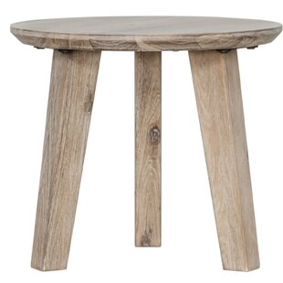 Cummings Solid Wood 3 Legs End Table By Foundry Select