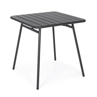 Breesha Steel Dining Table By Mercury Row