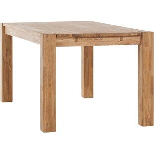 Watauga Extendable Solid Wood Dining Tabl..