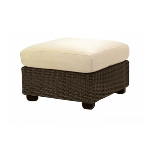 Woodard Montecito Ottoman with Cushion