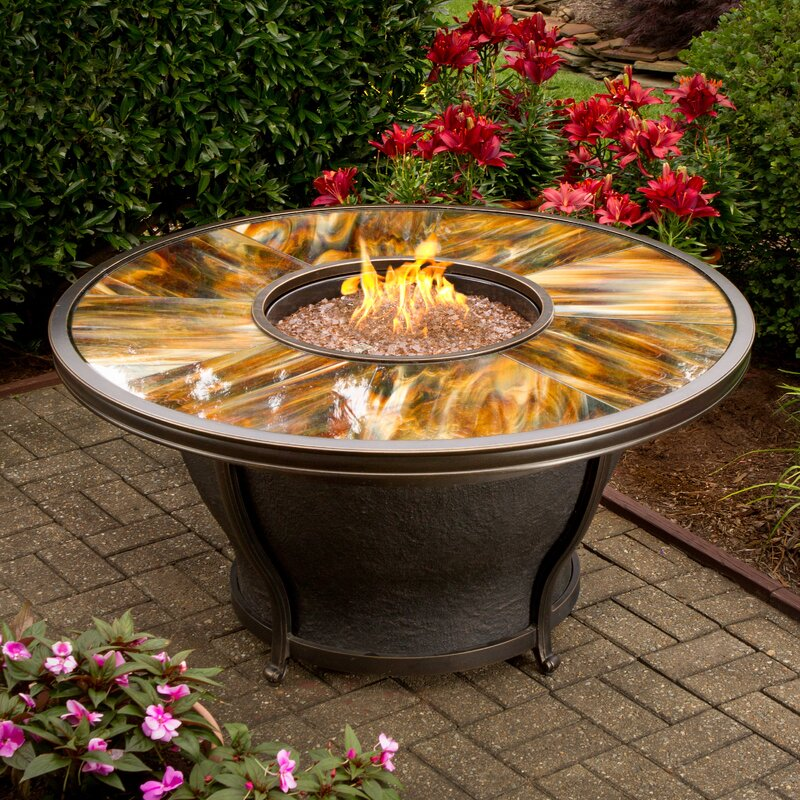 Exceptionnel Moonlight Propane Gas Fire Pit Table