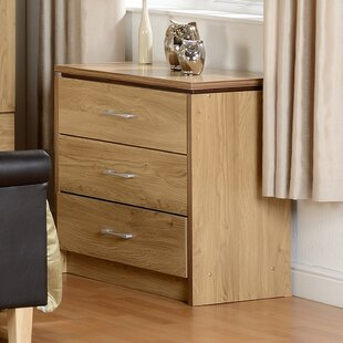 Charles 3 Drawer Chest Of Drawers By 17 Stories