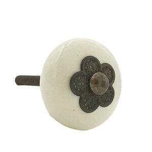 Myosotis Ceramic Round Knob