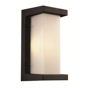 Order Jorge 1-Light Outdoor Flush Mount By Latitude Run