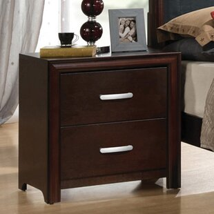 Pelagia 2 Drawer Nightstand by Brayden Studio