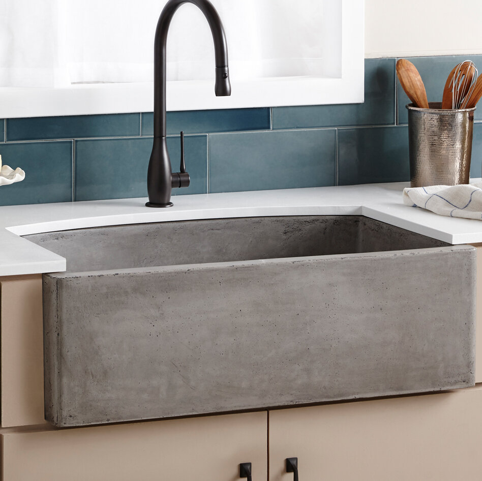 Nskq3320 A 33 L X 21 W Farmhouse Kitchen Sink