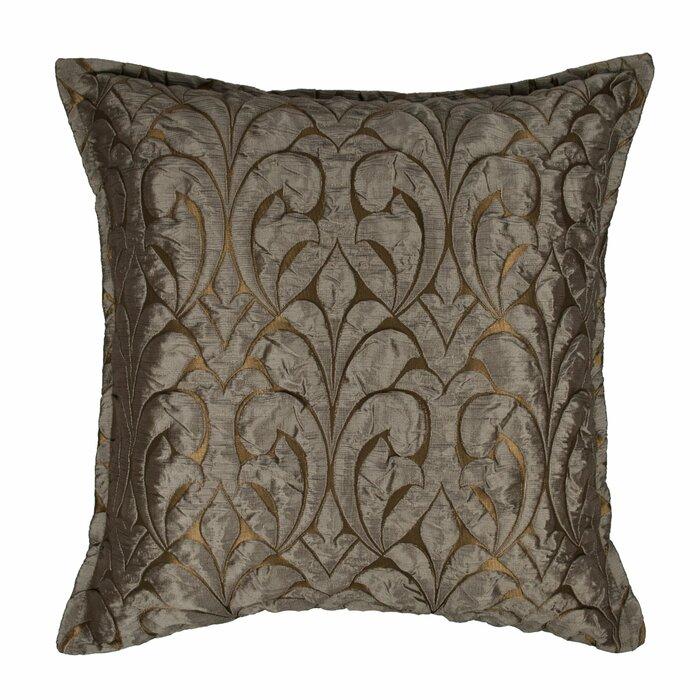 Mccrady Embossed Luxury Decorative Throw Pillow