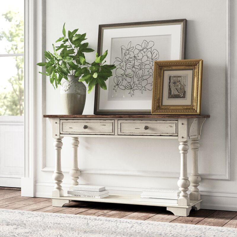 "Belle Meade 52"" Console Table. #furniture #consoletable #kellyclarksoncollection #frenchcountry #entryway"