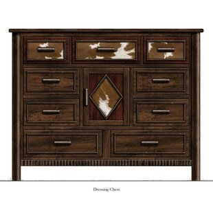 Loon Peak Mosely Dressing 9 Drawer Combo Dre..