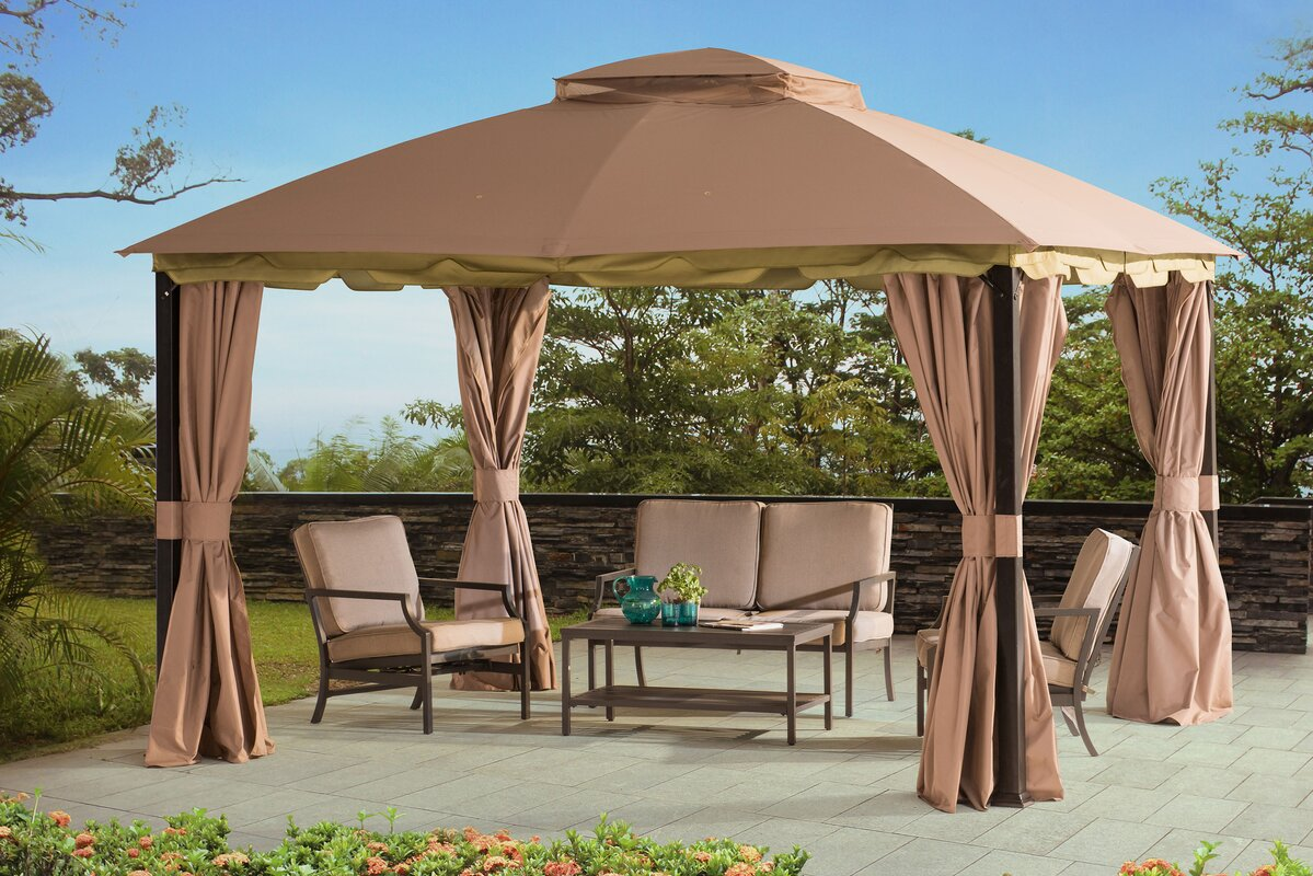 Projects gazebos: the best options and ideas for giving