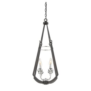 Brayden Studio Luman 4-Light Foyer Pendant