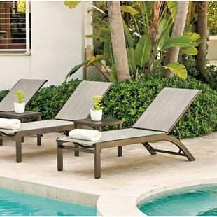 Kendall Reclining Chaise Lounge (Set of 2)