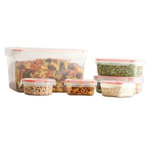 Koeppe BPA Free Plastic 12 Container Food Storage Set