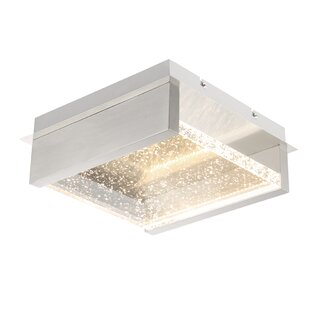 Orren Ellis Stutzman 2-Light LED Outdoor Flush Mount