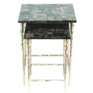 Best Choices Lotus Ossified End Table by Peetal New York