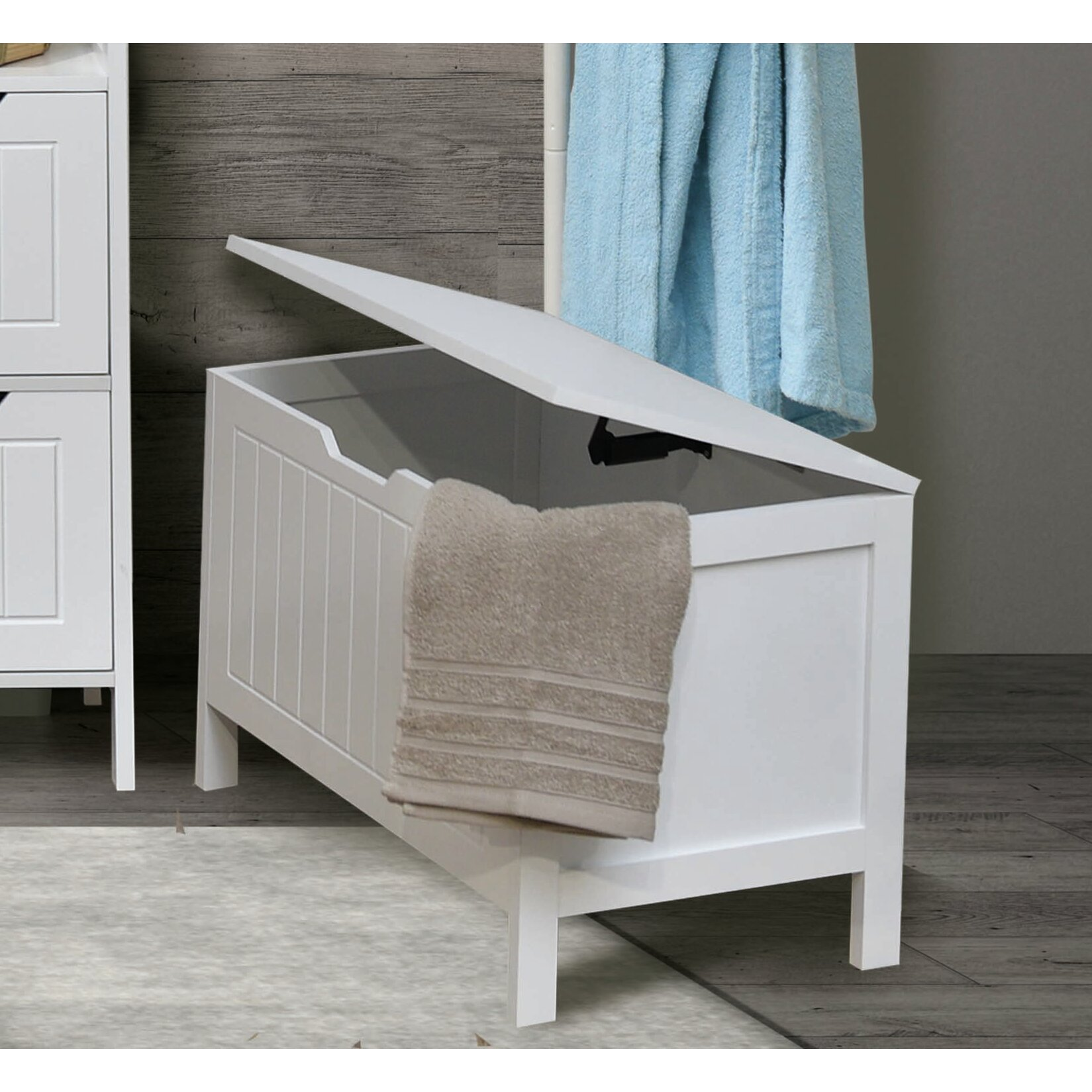 evideco cap ferret soft cove storage bench wayfair ca