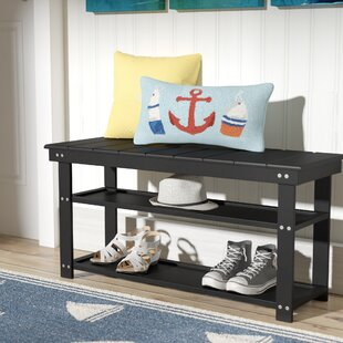 Beachcrest Home Stoneford Storage Bench