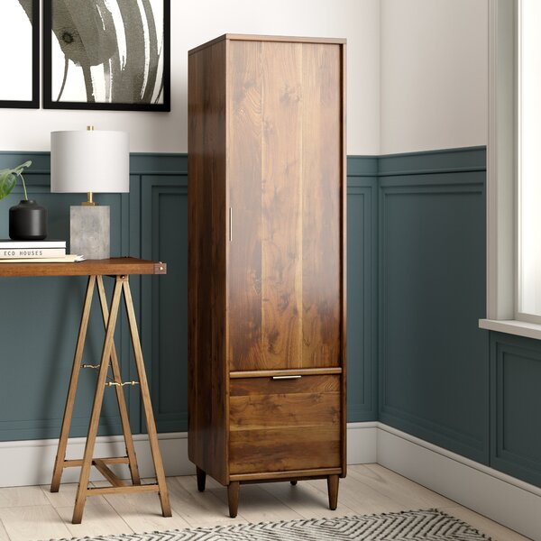 Cutrer 1 Drawer Vertical Filing Cabinet by Joss & Main