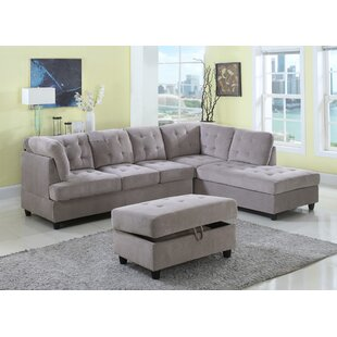 Red Barrel Studio Farley Sectional with O..