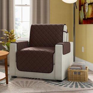 Diamond T-Cushion Armchair Slipcover By Winston Porter