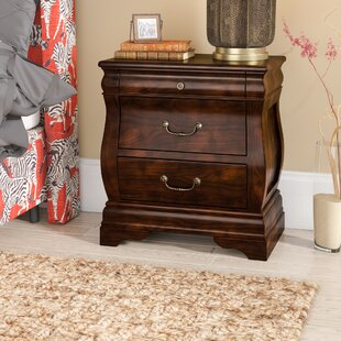 World Menagerie Liverpool 2 Drawer Nightstand